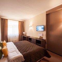 Гостиница Горная Резиденция АпартОтель Люкс с двуспальной кроватью фото 4
