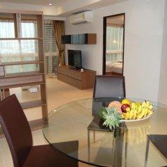 Отель I Am Residence 3* Улучшенные апартаменты с двуспальной кроватью фото 10