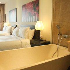 Отель Thanh Binh Riverside Hoi An 4* Номер Делюкс с различными типами кроватей фото 9