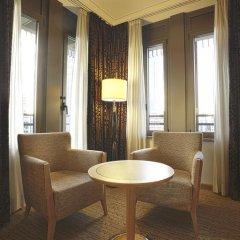 Отель Hilton Milan 4* Представительский номер с различными типами кроватей фото 18