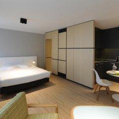 Отель Residence La Source Quartier Louise 3* Студия с различными типами кроватей фото 23