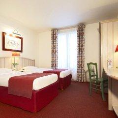 Отель Campanile Val de France 3* Стандартный номер с 2 отдельными кроватями фото 4