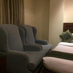 Hotel Aura 3* Стандартный семейный номер с двуспальной кроватью фото 6