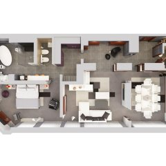 Steigenberger Airport Hotel 4* Номер Бизнес с различными типами кроватей