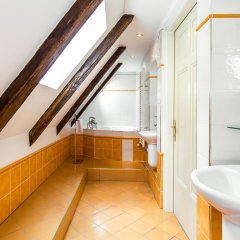 Hotel U Zlateho Jelena (Golden Deer) ванная