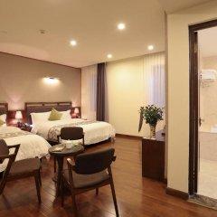 Sapa Legend Hotel & Spa 3* Семейный номер Делюкс с различными типами кроватей фото 4