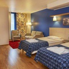 Отель Scandic Kallio 3* Улучшенный номер с 2 отдельными кроватями фото 8