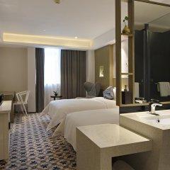 Paco Hotel Guangzhou Gangding Metro Branch 4* Номер Делюкс с 2 отдельными кроватями
