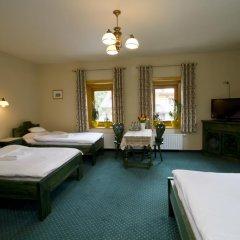 Отель Pensjonat Zakopianski Dwór 3* Стандартный семейный номер с двуспальной кроватью фото 5