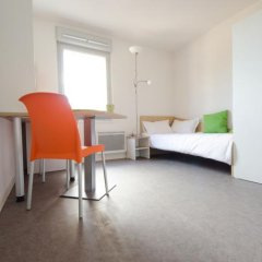 Отель Apparteo Lyon 7 Gerland Франция, Лион - отзывы, цены и фото номеров - забронировать отель Apparteo Lyon 7 Gerland онлайн комната для гостей фото 4