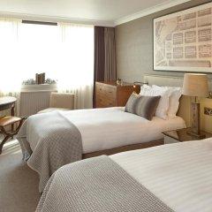 Отель Intercontinental Edinburgh the George 5* Улучшенный номер с различными типами кроватей фото 2
