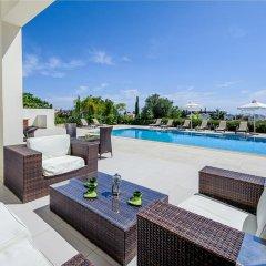 Отель Oceanview Villa 069 Кипр, Протарас - отзывы, цены и фото номеров - забронировать отель Oceanview Villa 069 онлайн бассейн фото 3