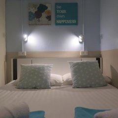 I-Sleep Silom Hostel Стандартный номер с двуспальной кроватью (общая ванная комната) фото 3