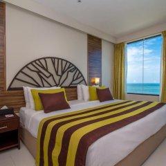 Отель The Ocean Colombo 3* Улучшенный номер с различными типами кроватей фото 7