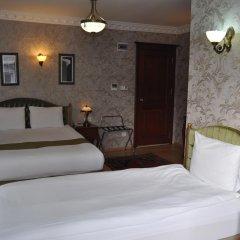 Basileus Hotel 3* Стандартный семейный номер разные типы кроватей фото 6