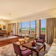 Отель The Oberoi Amarvilas, Agra 5* Люкс повышенной комфортности с различными типами кроватей фото 9