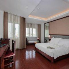 Quoc Hoa Premier Hotel 4* Номер Делюкс двуспальная кровать фото 3