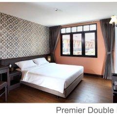 Отель Rambuttri Village Inn & Plaza 3* Улучшенный номер с различными типами кроватей фото 14