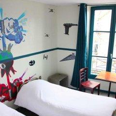 Отель Hôtel Absolute Paris République 2* Кровать в общем номере с двухъярусной кроватью фото 4