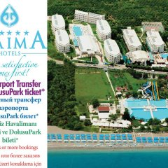 Daima Biz Hotel - All Inclusive бассейн фото 2