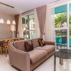 Отель Atlantis Condo Jomtien Pattaya By New Паттайя комната для гостей фото 3