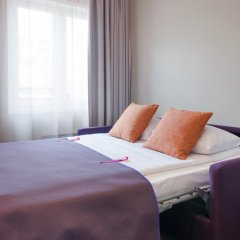 Отель Scandic Karl Johan 3* Улучшенный номер с различными типами кроватей фото 4