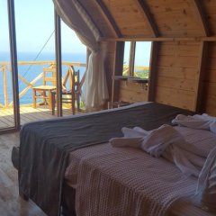 Seaview Faralya Butik Hotel Номер Делюкс с различными типами кроватей фото 34