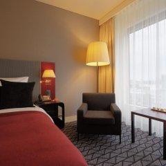 Radisson Blu Hotel Zurich Airport 4* Стандартный номер с различными типами кроватей фото 7