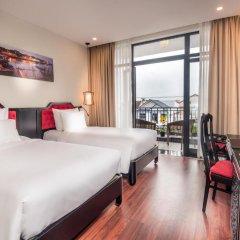 Отель Belle Maison Hadana Hoi An Resort & Spa - managed by H&K Hospitality. 4* Номер Делюкс с двуспальной кроватью фото 7
