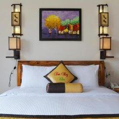 Отель Truc Huy Villa 3* Улучшенный номер с различными типами кроватей фото 3