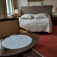Hotel Postgaarden 3* Стандартный семейный номер с разными типами кроватей фото 7