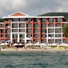 Отель Carina Beach Aparthotel - Free Private Beach пляж фото 2