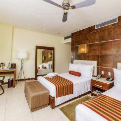 Отель Krystal Urban Cancun комната для гостей фото 11