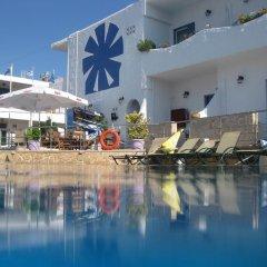Hotel Milos 3* Улучшенный номер с различными типами кроватей фото 3
