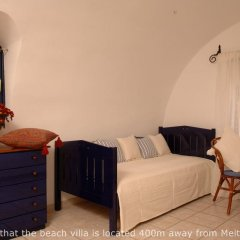 Отель Meltemi Village 4* Вилла с различными типами кроватей фото 5