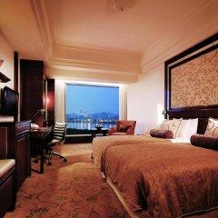 Shangri-La Hotel Guangzhou 5* Номер Делюкс с разными типами кроватей фото 4
