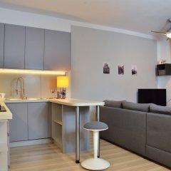 Отель Bajkowy Gdańsk Улучшенные апартаменты с различными типами кроватей фото 19