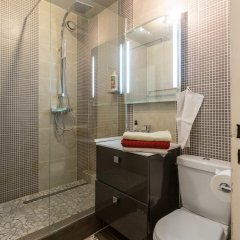 Апартаменты Studio Paris Buttes Chaumont Париж ванная фото 2