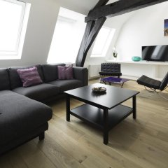 Апартаменты Apartments Chapeliers / Grand-Place комната для гостей фото 4