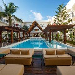 Отель Hm Playa Del Carmen Плая-дель-Кармен бассейн фото 3