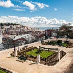 Апартаменты Shortstayflat Central Apartments Principe Real Лиссабон