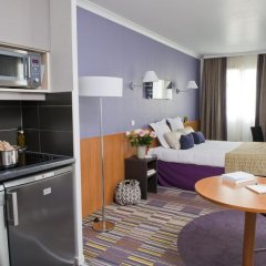 Отель Aparthotel Adagio la Defense le Parc 4* Студия с различными типами кроватей фото 4