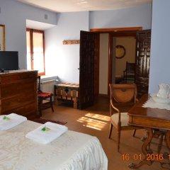 Отель El Escudo de Calatrava Номер категории Эконом с различными типами кроватей фото 8