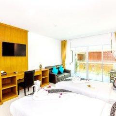 Курортный отель Lamai Coconut Beach 3* Улучшенный номер с различными типами кроватей фото 15