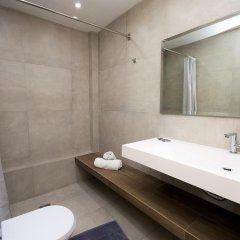 Отель Panorama Apartments Греция, Порос - 1 отзыв об отеле, цены и фото номеров - забронировать отель Panorama Apartments онлайн ванная