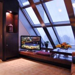 Shanghai Grand Trustel Purple Mountain Hotel 5* Представительский люкс с различными типами кроватей фото 3