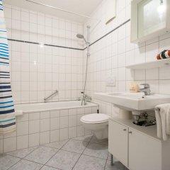 Отель Mainhatten Apartment Германия, Франкфурт-на-Майне - отзывы, цены и фото номеров - забронировать отель Mainhatten Apartment онлайн ванная фото 2