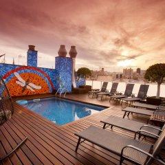 Отель Ciutat de Barcelona Испания, Барселона - 1 отзыв об отеле, цены и фото номеров - забронировать отель Ciutat de Barcelona онлайн бассейн фото 3
