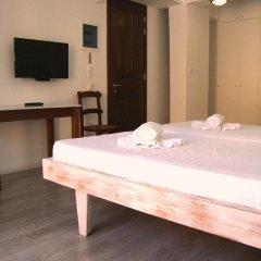 Отель Creta Seafront Residences 2* Улучшенный номер с различными типами кроватей фото 23