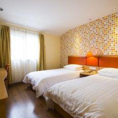 Отель Home Inn Guangzhou Xiaoxiguan Китай, Гуанчжоу - отзывы, цены и фото номеров - забронировать отель Home Inn Guangzhou Xiaoxiguan онлайн комната для гостей фото 5